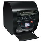 Hatco TQ3-500 Toast-Qwik Black Conveyor Toaster with 2 inch Opening and Digital Controls - 208V, 2220W