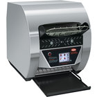Hatco TQ3-500 Toast-Qwik Stainless Steel Conveyor Toaster with 2 inch Opening and Digital Controls - 208V, 2220W