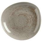 Schonwald 938132263043 Pottery 22 oz. Unique Light Gray Organic Porcelain Bowl - 6/Case