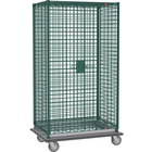 Metro SEC53LK3 Metroseal 3 Mobile Heavy Duty Wire Security Cabinet - 38 1/2 inch x 28 1/16 inch x 68 1/2 inch