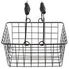 Choice Black Tabletop Market Basket - 9 inch x 7 inch x 5 inch