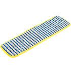 Rubbermaid FGQ81000YL00 HYGEN 18 inch Microfiber Scrubber Mop Pad