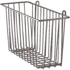 Metro H212-DCH Copper Hammertone Storage Basket for Wire Shelving 17 3/8 inch x 7 1/2 inch x 10 inch