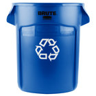 Rubbermaid FG262073BLUE BRUTE 20 Gallon Blue Recycling Can