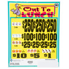 Out to Lunch 5 Window Pull-Tab Tickets - 4000 Tickets per Deal - $1400 Total Payout