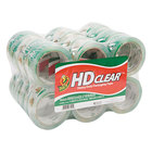 Duck Tape 393730 1 7/8 inch x 55 Yards Clear Heavy-Duty Carton Packaging Tape - 24/Pack