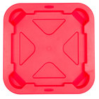 Rubbermaid FG352900RED BRUTE Snap-Lock 28 Gallon Square Red Lid