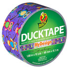 Duck Tape 282116 1 7/8 inch x 10 Yards Colored Retro Owl Duct Tape