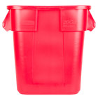 Rubbermaid FG352600RED BRUTE 28 Gallon Square Red Trash Can