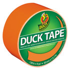 Duck Tape 1265019 1 7/8 inch x 15 Yards Colored Neon Orange Duct Tape