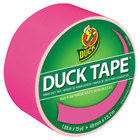 Duck Tape 1265016 1 7/8 inch x 15 Yards Colored Neon Pink Duct Tape