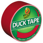 Duck Tape 1265014 1 7/8 inch x 20 Yards Colored Red Duct Tape
