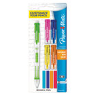 Paper Mate 1887960 Assorted Barrel Color 0.7mm Clear Point Mix & Match HB Lead #2 Mechanical Pencil - 2/Set