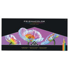 Prismacolor 1799879 Premier 150-Color Assorted Woodcase Barrel 3mm Soft Lead Colored Pencil Set - 150/Set
