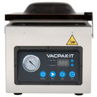 VacPak-It VMC10DPU Chamber Vacuum Packaging Machine with 10 1/4 inch Seal Bar and Dry Pump
