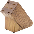 Dexter-Russell 20332 Traditional Slant Wooden Knife Block