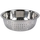 5.5 Qt. Stainless Steel Chinese Colander with Large Holes