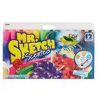 Mr. Sketch 1905069 Assorted 12-Color Chisel Tip Scented Watercolor Marker Set