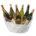 Franmara 9080 Colossus 8-Bottle Clear Acrylic Oval Wine Bucket