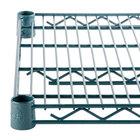 Regency 24 inch x 72 inch NSF Green Epoxy Wire Shelf