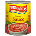 Furmano's #10 Can Tomato Sauce - 6/Case