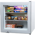 Avantco CFM2 White Countertop Display Freezer with Swing Door