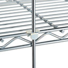 Metro R84S 84 inch Stainless Steel Wire Shelving Rod