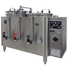 Grindmaster 7773E Twin 3 Gallon Automatic Mid Line Coffee Urn - 120/208V, 1 Phase