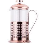 Choice 20 oz. Glass / Copper French Coffee Press