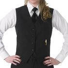 Women's 3X Black Full Cloth Back Server Vest