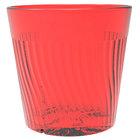 Belize 8 oz. Red Polycarbonate Plastic Rocks Glass - 12/Pack
