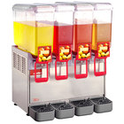 Cecilware Arctic Deluxe 20/4PD Quadruple 5.4 Gallon Bowl Premix Cold Beverage Dispenser