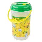 64 oz. Lemon Ice Bucket Jug with Lid and Handle   - 36/Case