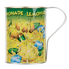 32 oz. Lemonade Ice Tin Mug - 50/Case