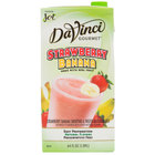 DaVinci Gourmet Strawberry Banana Real Fruit Smoothie Mix - 64 oz.