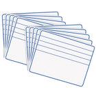 Creativity Street 988210 12 inch x 9 inch Blue / White Ruled Student Dry Erase Board - 10/Set
