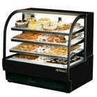 True TCGR-50 50 inch Black Refrigerated Bakery Case - 27.4 Cu. Ft.