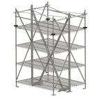 Metro SA60TTIS Super Erecta Seismic Top-Track 60 inch Stationary Intermediate Unit Kit
