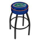 Holland Bar Stool L8B130FlorUn University of Florida Single Ring Swivel Bar Stool with 4 inch Padded Seat
