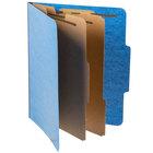 Pendaflex PFX 1257LB Letter Size Moisture-Resistant Classification Folder - 10/Box