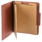 Pendaflex PFX 1257R Letter Size Classification Folder - 10/Box