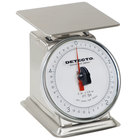 Cardinal Detecto PT-5-SR Stainless Steel 5 lb. Mechanical Portion Control Scale