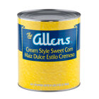 Cream Style Golden Sweet Corn 6 - #10 Cans / Case