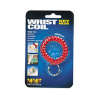 Steelmaster 201450007 Red Wrist Coil with Key Ring