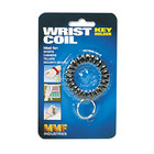 Steelmaster 201450004 Black Wrist Coil with Key Ring