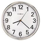 Howard Miller 625561 Hamilton 12 inch Silver Wall Clock