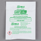 Noble Chemical 0.5 oz. Last Call Low Suds Powdered Bar Glass Cleaner Packet - 100/Case