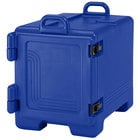 Cambro 1318CC186 Combo Carrier Navy Blue Front Loading Insulated Tray / Sheet Pan and Food Pan Carrier