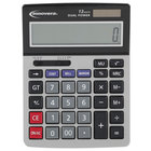 Innovera 15968 5 inch x 7 inch 12-Digit LCD Solar / Battery Powered Minidesk Calculator