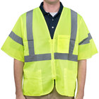 Lime Class 3 High Visibility Safety Vest - XXL